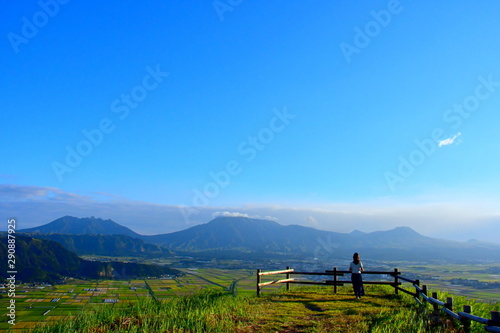 Photo 熊本阿蘇城山展望所からの風景