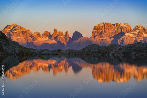 Canvas Lago Nero di Cornisello Brenta
