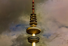 Hamburg TV Tower Against The B...