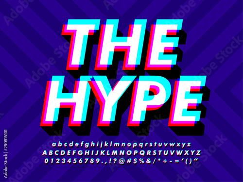 Modern Style Text Effect