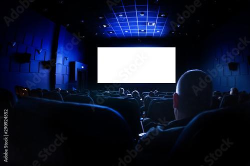 Cinema or theater in the auditorium Tablou Canvas
