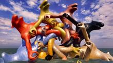 Dinosaur Doomsday Sculpture 3d...