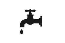 Water Tap Icon Vector Illustra...