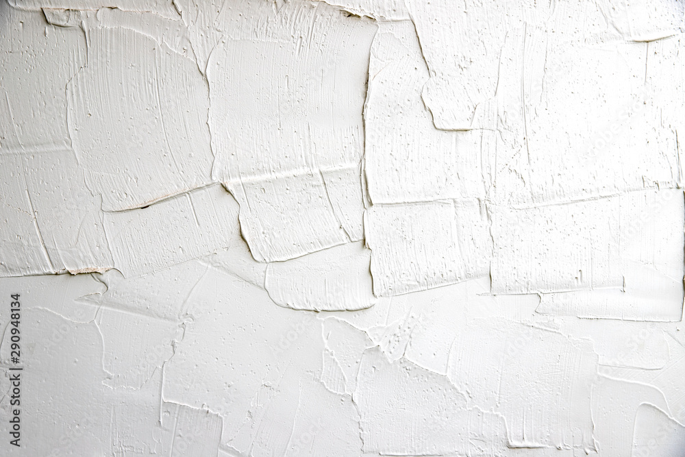 Fototapeta Grunge White Background Cement Old Texture Wall