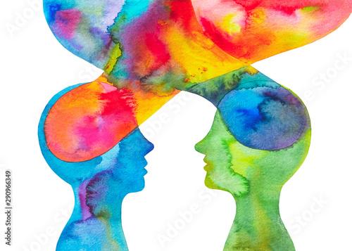 disegno colorato coppia rapporto emozioni