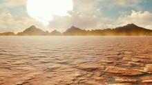 Apocalyptic Desert. Post-Apoca...