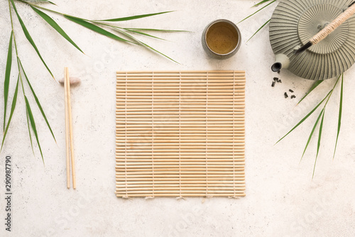 Obraz Asian food background - fototapety do salonu