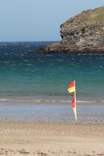 Gull Rock, Portreath Beach, Co...