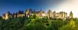 Carcassonne bei Tag und Nacht