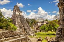 Tikal, Mayan Ruins, Temple I, ...