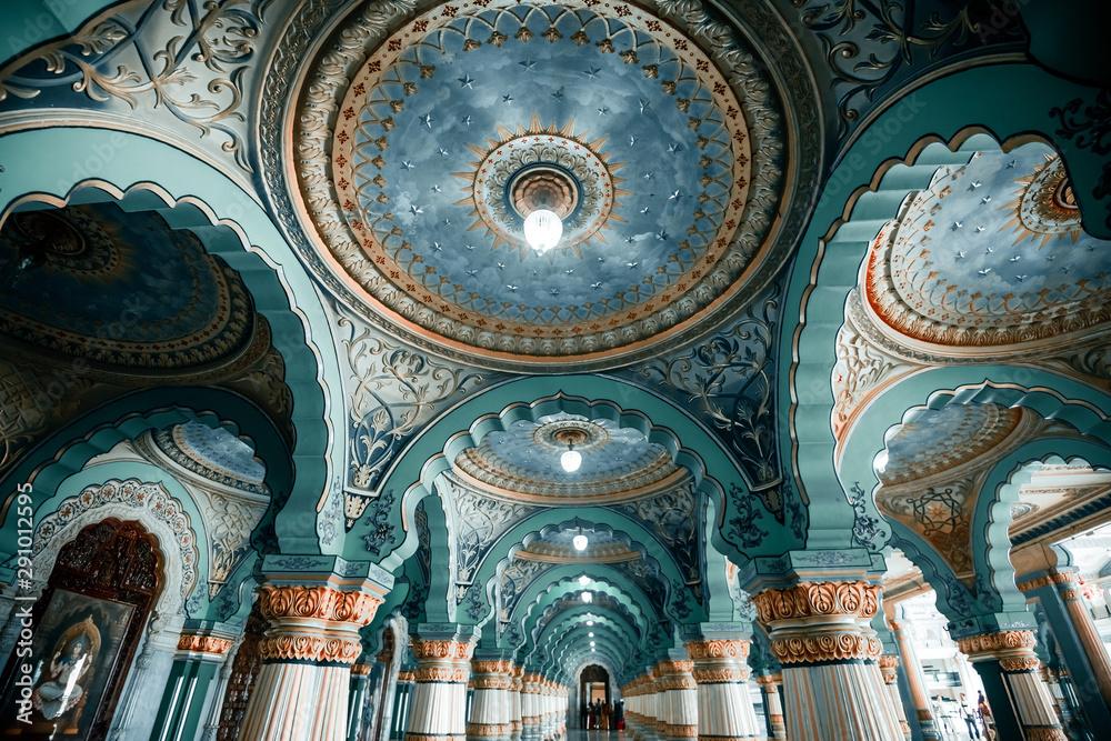 Fototapety, obrazy: Mysore palace in India