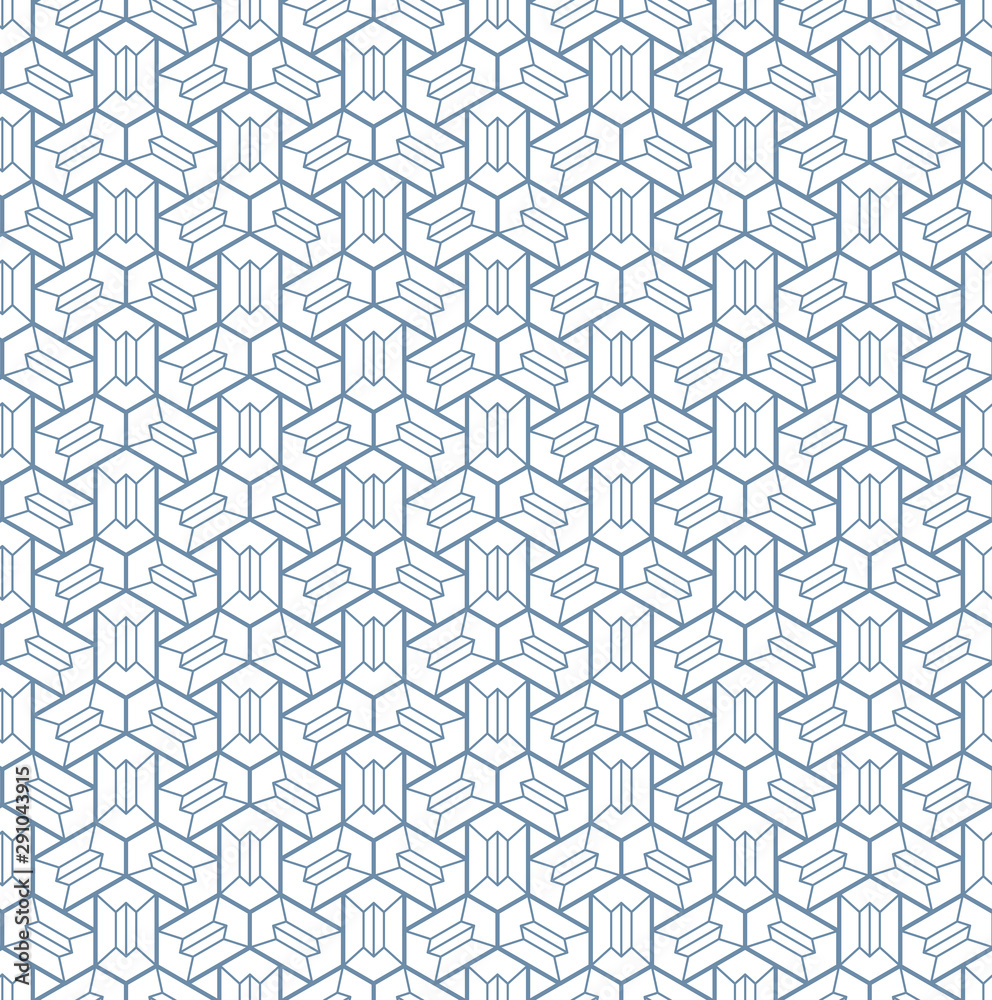 Fototapeta Seamless geometric pattern