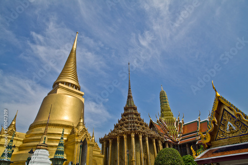 The Temple of the Emerald Buddha Canvas Print
