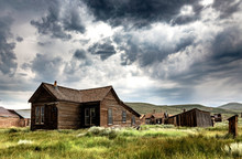 Old House In Bodie Ghost Town,...