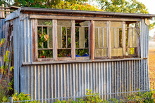 Dilapidated Old Hut Still Stan...