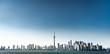 Beautiful day in Toronto city skyline, Canada