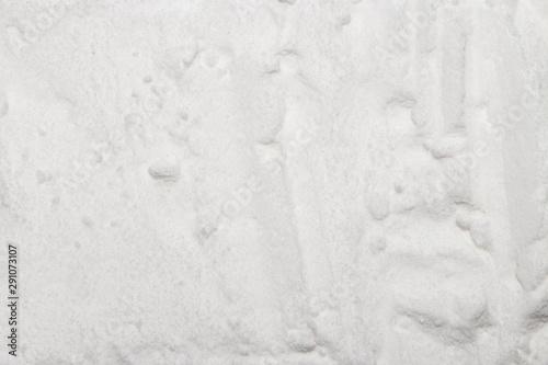 Fotomural  Soda.Baking soda background.The texture of baking soda.