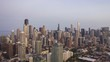 Chicago Skyline - Day to Night Hyper Lapse