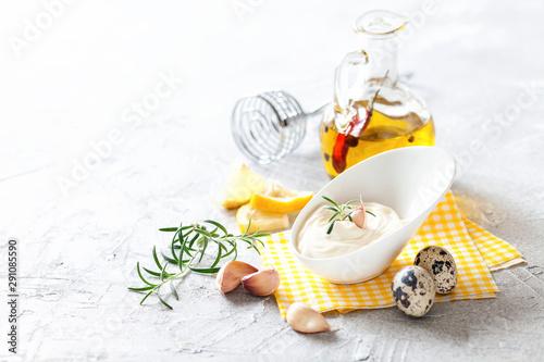 Garlic sauce Aioli Wallpaper Mural