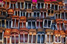 Belts. Leather Belts With Vari...
