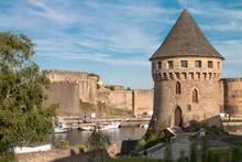 Vue Sur Le Port De Brest