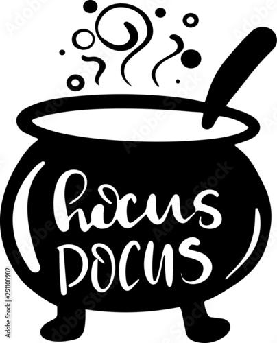 Fotografia Hocus pocus decoration for Halloween T-shirt
