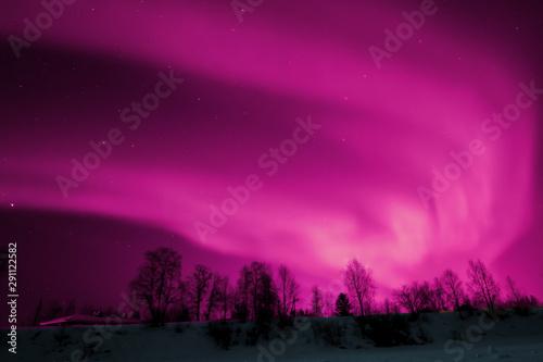 Fényképezés  Aurora borealis Lapland