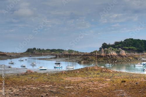Fotografie, Obraz ile de brehat a maree basse