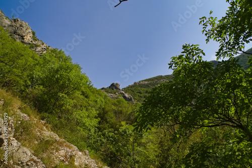 Poster Aigle vista dal sentiero 208 fosso dell'eremo a Piobbico