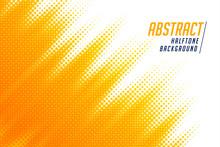 Abstract; Bright Yellow Diagon...