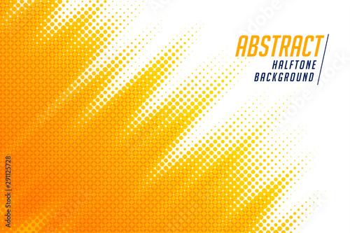 Fotografía  abstract; bright yellow diagonal halftone background design