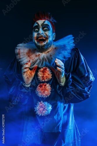 devil in form of clown