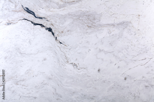 Keuken foto achterwand Marmer Natural marble background in white color for new home design.