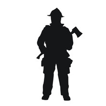 Fireman Silhouettes