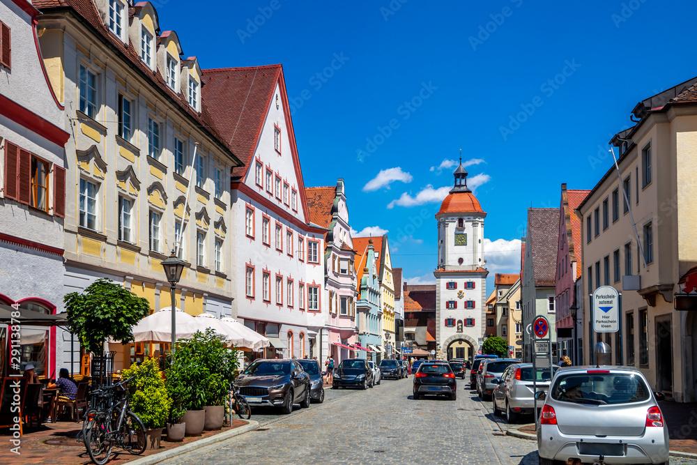 Fototapety, obrazy: Altstadt, DIllingen an der Donau, Deutschland