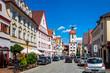 Altstadt, DIllingen an der Donau, Deutschland