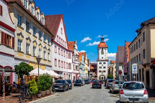 Obraz Altstadt, DIllingen an der Donau, Deutschland  - fototapety do salonu