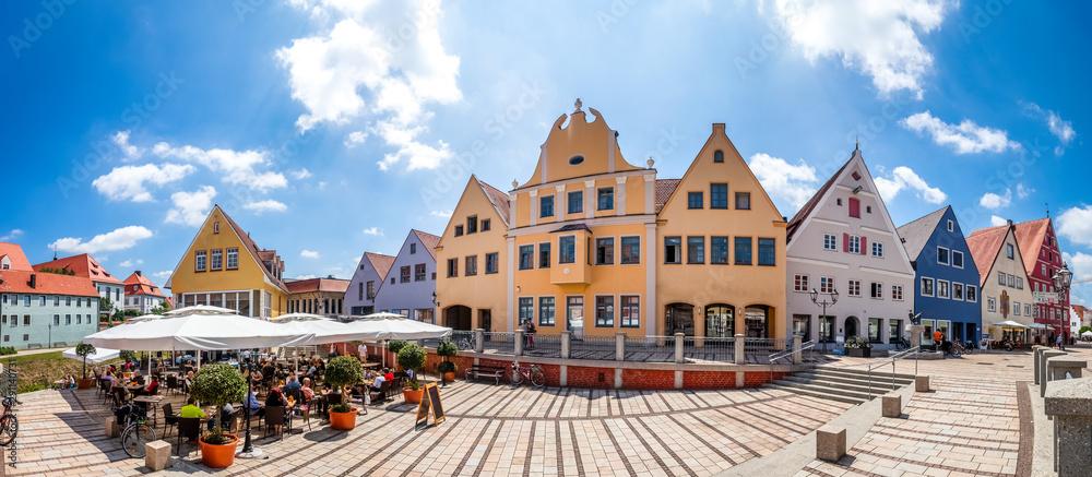 Fototapeta Altstadt, Donauwörth, Bayern, Deutschland