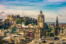 Edinburgh Castle Famous Fortre...