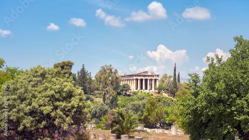 Photo  Landscape of Athens, Greece