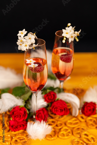 Romantic Valentine's day arrangement