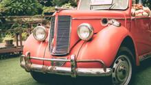 Parking Old Rusty Grunge Car