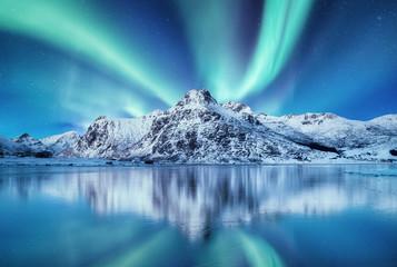 Aurora Borealis, Lofoten is...