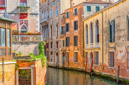 Obraz Architektura Wenecji, Włochy, Europa - fototapety do salonu
