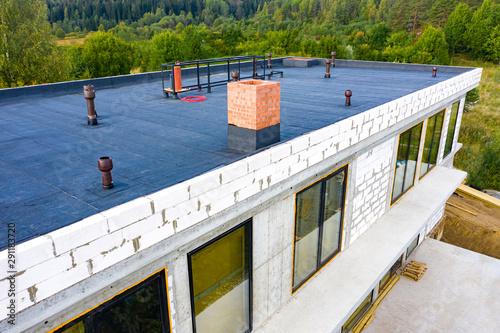 Roof waterproofing Fototapeta