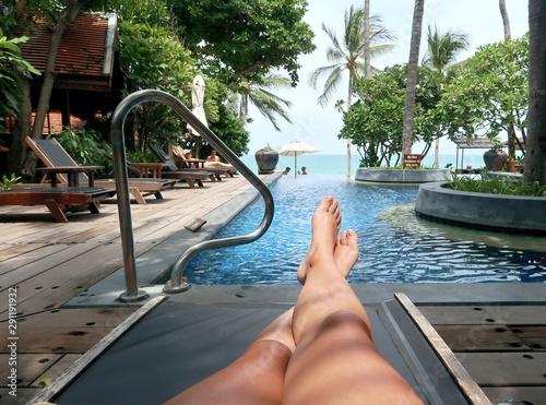 Fotografia, Obraz  Relaxar em Kho Samui