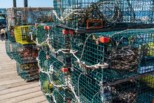 Lobster Traps And Ropes