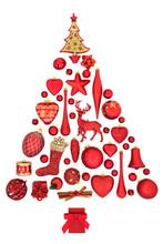 Christmas Tree Abstract Decora...