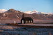 The Black Church of Budir in Iceland