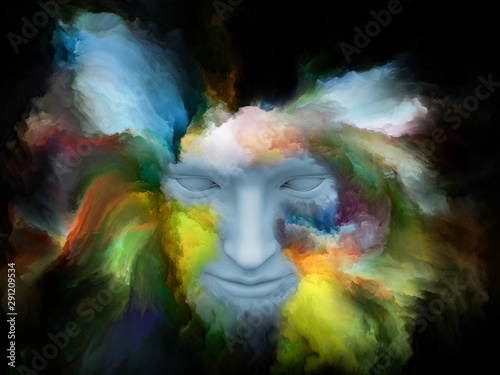 Fotografie, Obraz  Acceleration of Painted Dream
